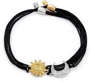 Alex and Ani Sun and Moon Pull Cord Bracelets Set of 2