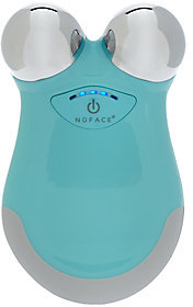 NuFace Mini Microcurrent Facial Toning Device - Caribbean Blue