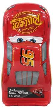 Cars 3-in-1 Body Wash Shampoo Conditioner Novelty Bottle - 14oz