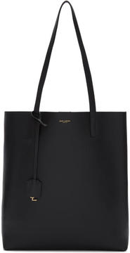 Saint Laurent Black North-South Shopping Tote - BLACK - STYLE