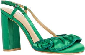 Max Studio sedate : satin wide heels
