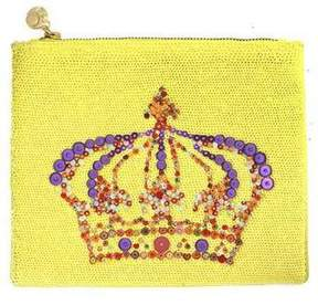 Forest of Chintz Yellow Monarchy Crossbody