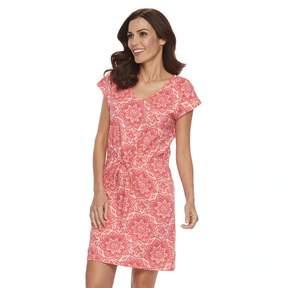 Caribbean Joe Women's Print Sheath Dress