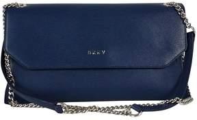 DKNY Navy Blue Leather Crossbody