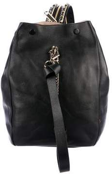 Jimmy Choo Nappa Leather Echo Backpack w/ Tags