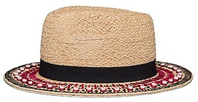 Tory Burch Top-Stitch Hat