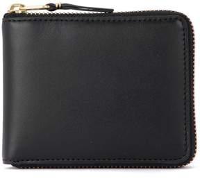 Comme des Garcons Wallet Black Leather Wallet
