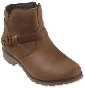 L.L. Bean Women's Teva De La Vina Leather Ankle Boots
