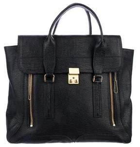3.1 Phillip Lim Large Pashli Leather Satchel