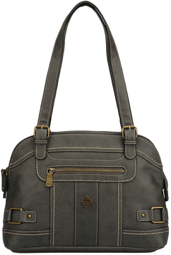 b.ø.c. Charcoal Braefield Satchel