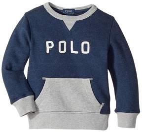 Polo Ralph Lauren Cotton French Terry Sweatshirt (Toddler)