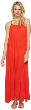 Echo Solid Maxi Beach Dress Women's Dress