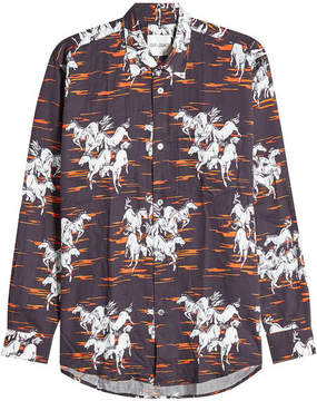 Our Legacy Printed Cotton Shirt