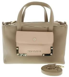 Versace EE1VRBBA6 Light Brown/ Powder Pink Tote Bag W/ detachable strap