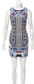 Clover Canyon Digital Printed Bodycon Dress