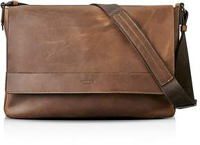 Shinola Distressed Messenger Bag