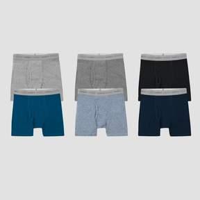 Hanes Boys' 5pk + 1 free Dyed Boxer Brief