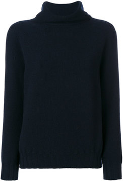 Cruciani classic roll-neck sweater