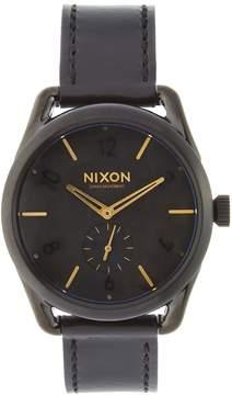 Nixon Men's C39 Stainless Steel & Leather Watch, 40mm