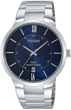 Pulsar Mens Stainless Steel Watch PS9355X