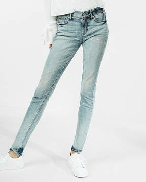 Express Mid Rise Eco-Friendly Stretch Jean Leggings