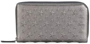 Jimmy Choo Carnaby star-embossed wallet