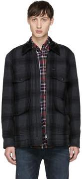 Diesel Grey Plaid W-Glacier Jacket