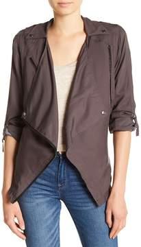 Blank NYC BLANKNYC Drape Shawl Collar Jacket