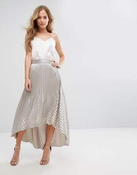Coast Paige Pleat Maxi Skirt