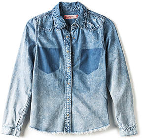 Blank NYC BLANKNYC Button Up Denim Top