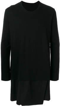 Julius layered T-shirt