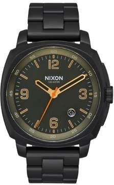 Nixon Charger A1072-1032-00 Black/Black Stainless Steel Analog Quartz Men's Watch