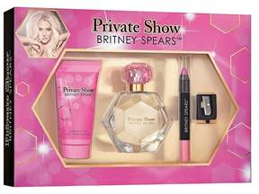 Private Show by Britney Spears Women's Fragrance & Lip Shades Gift Set - 4pc