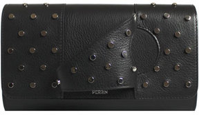 Perrin Paris L Asymé;trique Leather Clutch Bag