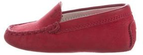 Tod's Kids' Suede Driving Loafers