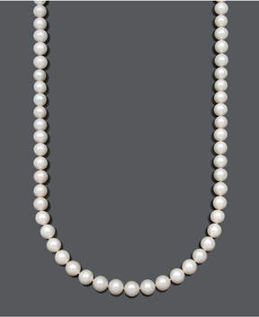 Belle de Mer Aa+ 36 Cultured Freshwater Pearl Strand Necklace (10-1/2-11-1/2mm) in 14k Gold