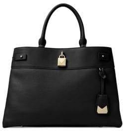 MICHAEL Michael Kors Gramercy Large Leather Satchel