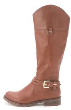 XOXO Women's Spray Knee-high Riding Boots.