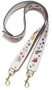 Anya Hindmarch All Over Wink Leather Shoulder Strap