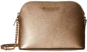 MICHAEL Michael Kors Cindy Large Dome Crossbody Cross Body Handbags - PALE GOLD - STYLE