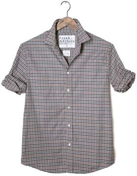 Frank And Eileen Mens Paul Italian Poplin Plaid Shirt