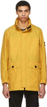 Stone Island Yellow Nylon Coat