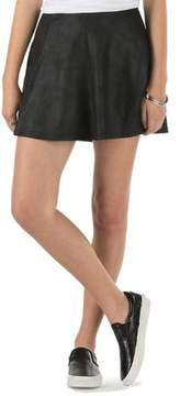 Vans Women's Off The Wall Harding Skirt-Black
