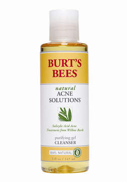 Natural Acne Solutions Purifying Gel Cleanser by Burt's Bees (5oz Cleanser)