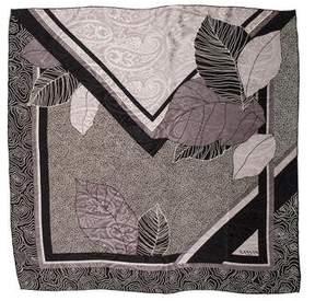 Lanvin Patterned Silk Scarf
