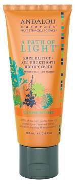 Andalou Naturals A Path of Light Clementine Hand Cream - 3.4 Oz