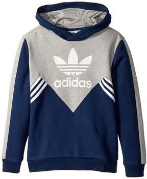 adidas Kids Zigzag Trefoil Hoodie Boy's Sweatshirt