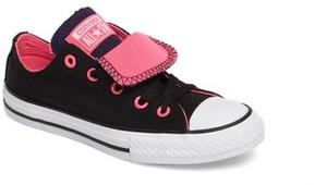 Converse Girl's Double Tongue Sneaker