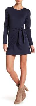 Dee Elly Front Tie Mini Dress