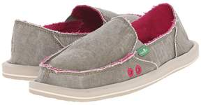 Sanuk Donna Distressed Women's Slip on Shoes